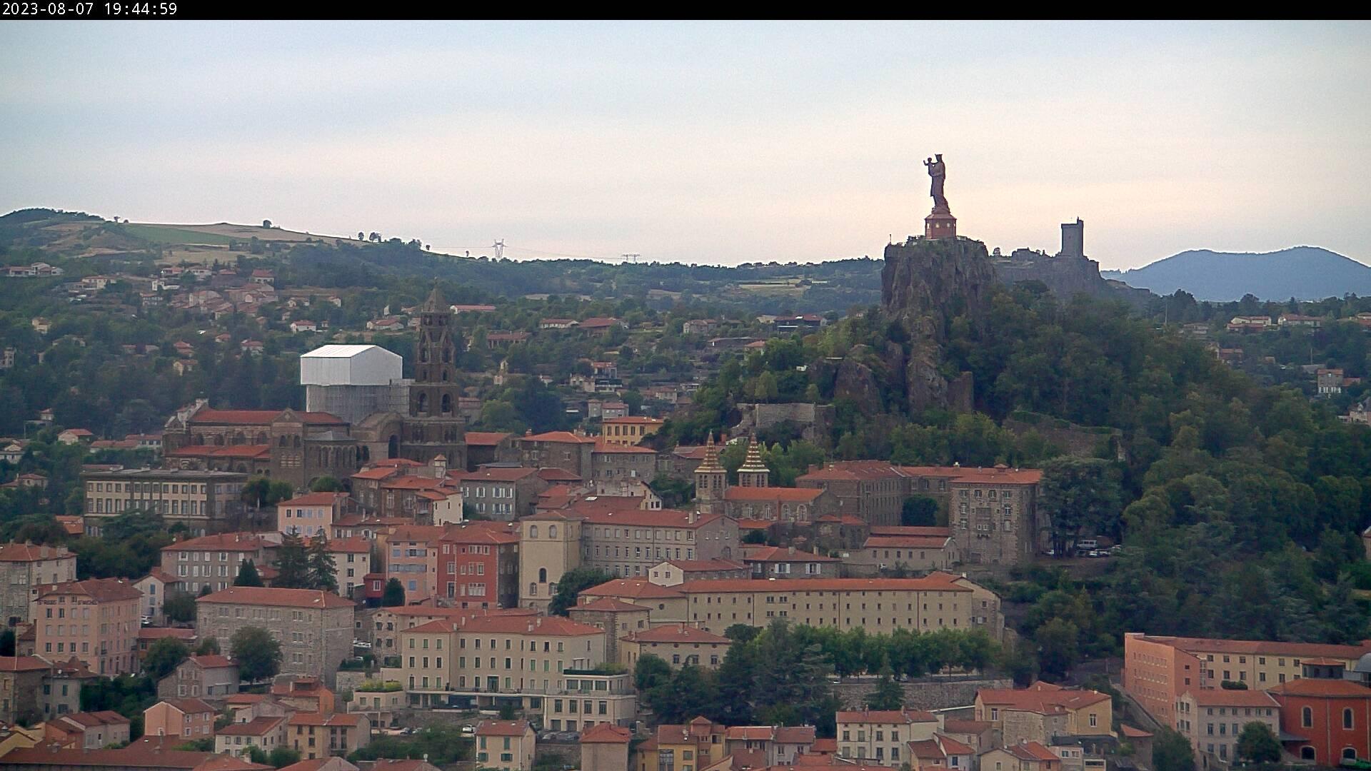 Le Puy-en-Velay vue Ouest